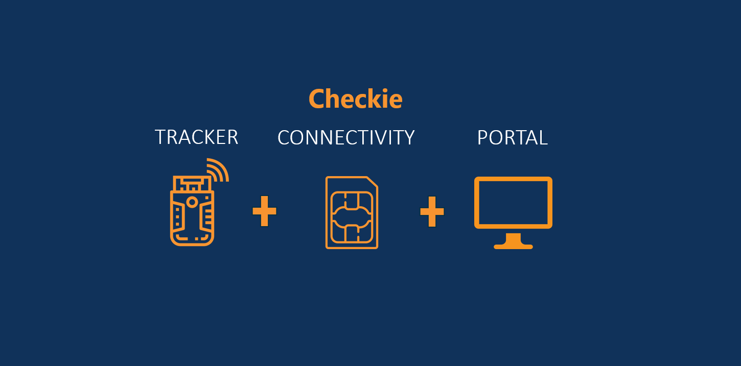Checkie tracker cont portal engels
